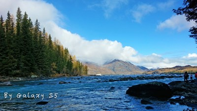 带着S5拍中国最美的湖