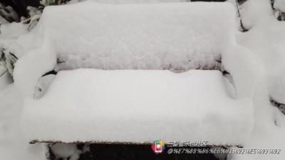 小6拍美丽雪景