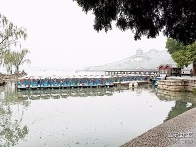 S7 edge 之水彩画效果随拍颐和园
