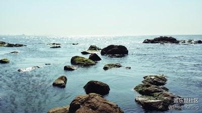 秦皇岛的海