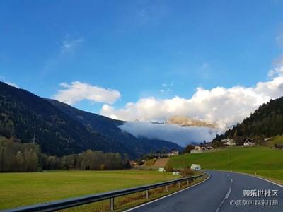 用S7e带你看世界,深秋的萨尔茨堡山区