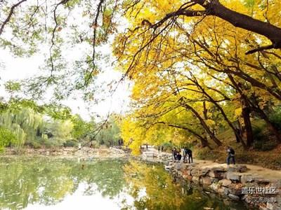 秋色颐和园