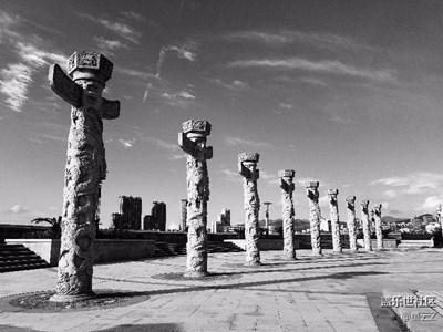 黑白影像+温州+简单平凡的世界