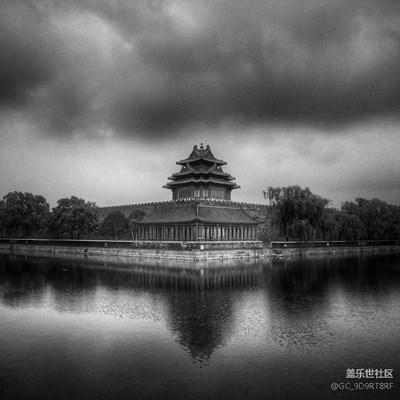 【黑白影像】+北京+雨后