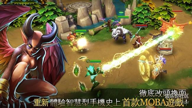 混沌与秩序之英雄:Heroes of Order & Chaos Online V3.5.2a