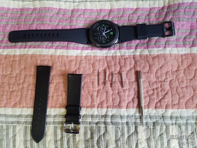 【用科技智造时间】为Gear S3先锋版换表带【附过程】