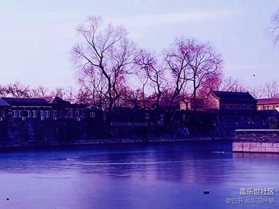 【冬天的颜色】+北京+这里是北京