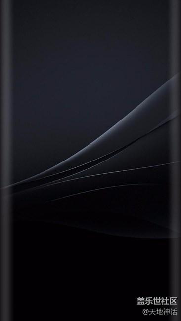 【盖乐世社区】高清曲屏壁纸20P,机因曲而美