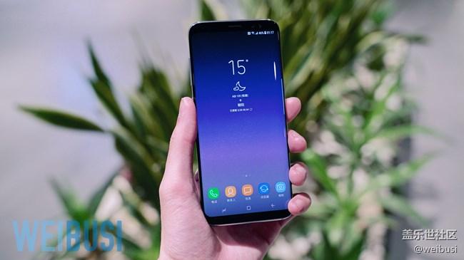 三星 Galaxy S8 快速上手初体验「WEIBUSI 」