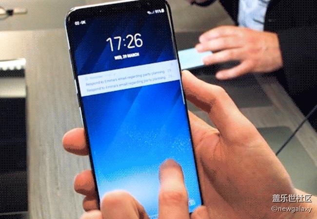 20170330:三星Galaxy S8/S8+ Infinity Wallpapers暗藏玄机!