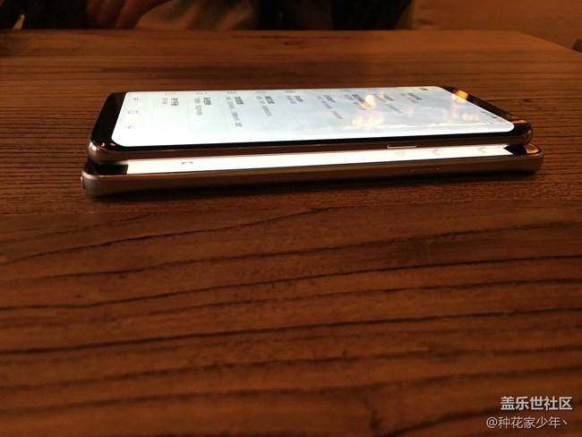 """北京星部落""""萌新""""与Galaxy S8的第一次相遇。"""
