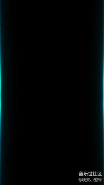 最最漂亮的一张黑色壁纸,特别适合曲面屏!!