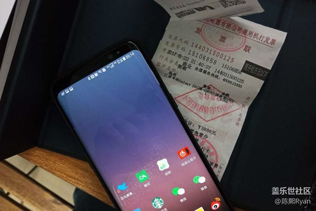 【S8晒单】足够盈盈一握挺好,三星Galaxy S8晒单