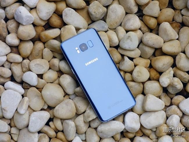 夏日里的一抹蓝 三星盖乐世S8雾屿蓝版图赏
