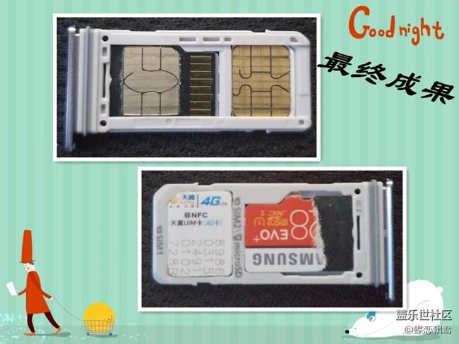 最新TF卡SIM卡二合一教程(老少皆宜_0难度)
