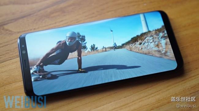 三星盖乐世S8/S8+全视曲面屏生活体验