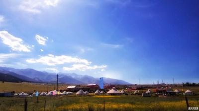 盖乐世社区2周年庆 】+ 韧  +新疆松树塘+游牧生活