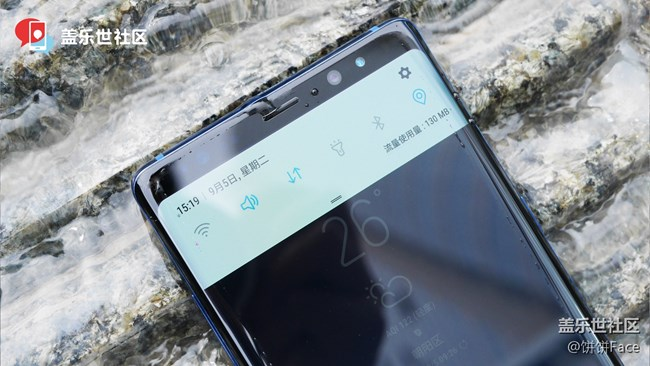 【搞星机】第3期 欣赏三星盖乐世 Note8在水中的美
