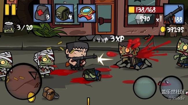 僵尸时代2修改版 Zombie Age 2 V1.2.2 金币和金钱为无限