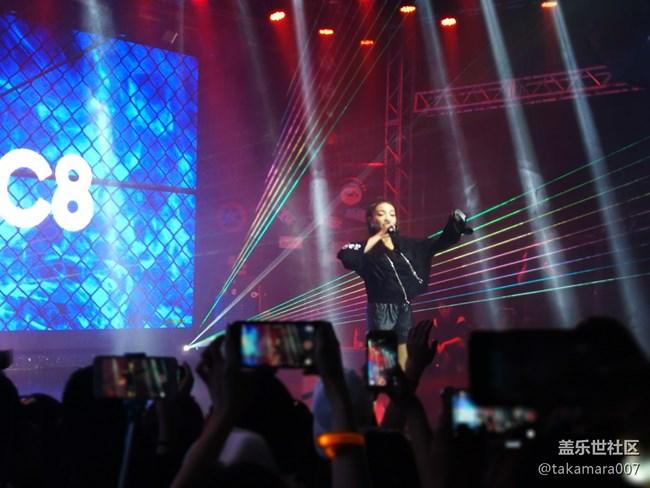 三星C8中国发布,嘻哈歌手助力燃爆全场