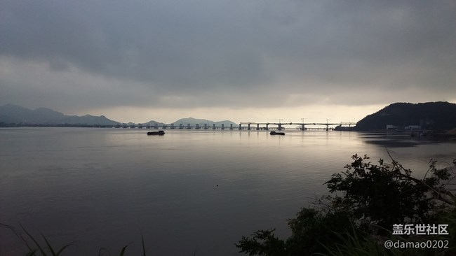 福建长乐市浪岐大桥早晨随拍---J3119