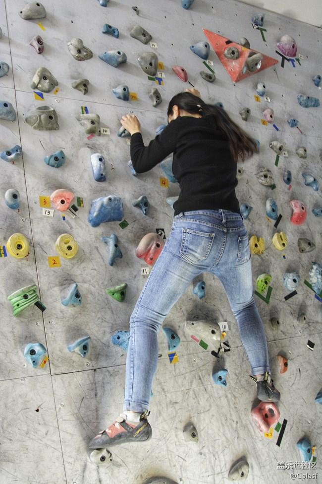 岩壁上的芭蕾 星粉初体验 抱石与摄影分享会回顾