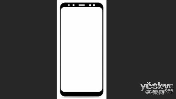 疑为三星Galaxy A8 (2018)前面板曝光:前置双摄/全面屏