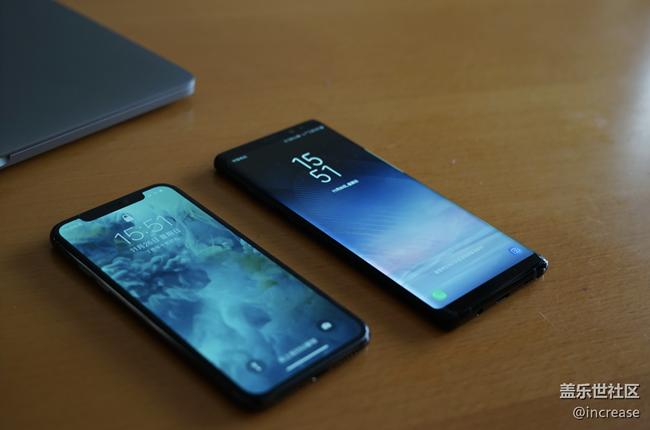 【Note8百人体验团】图文类 最强旗舰对决iPhoneX VS Note8