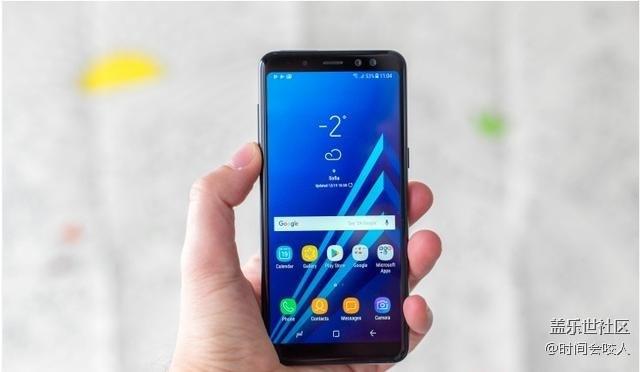 【分享】三星Galaxy A8(2018)前置双摄像头