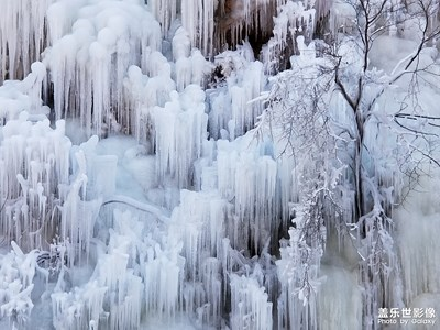 神泉峡冰瀑