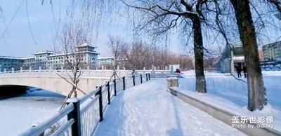 校园的冬天
