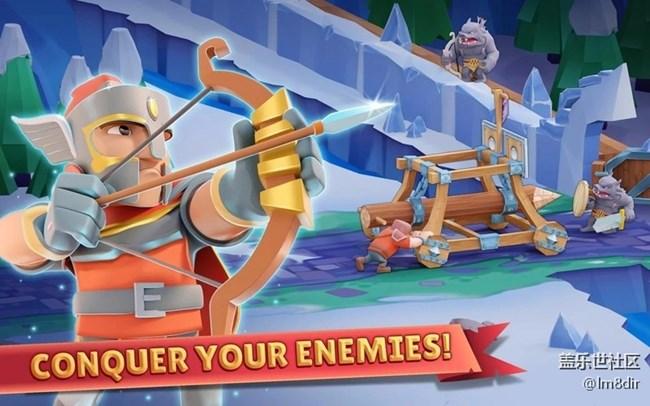 战士的游戏 V 1.0.7 金币无线修改版 指挥军队征服其他城市
