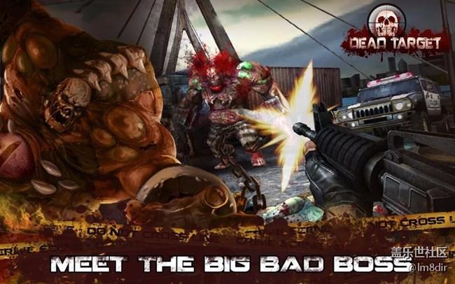 杀戮目标 DEAD TARGET v4.3.0.1 重口味的僵尸射击游戏