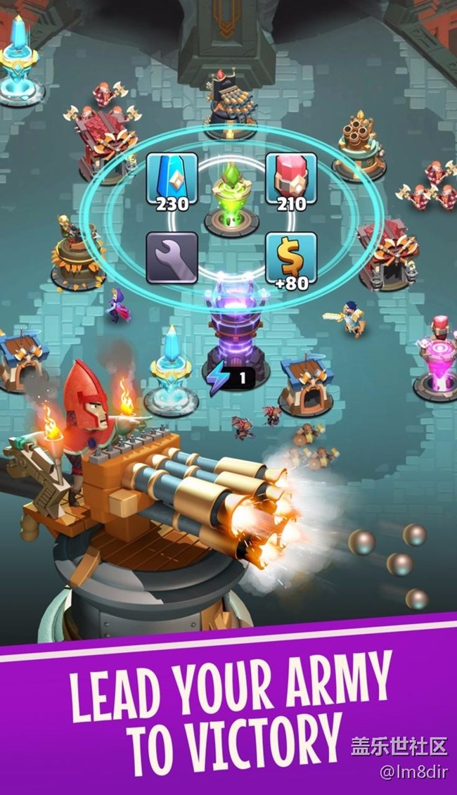 守卫城堡修改版 Castle Creeps TD v1.33.0 金币、钻石无限