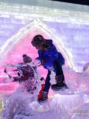 【童趣】+冰城里欢乐的孩子们