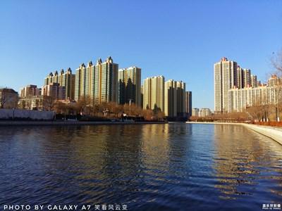 秀丽丹河之冬