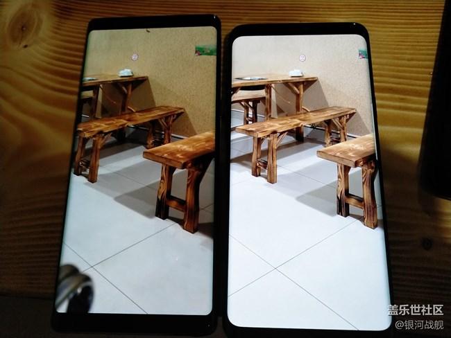 实拍S9 S9+ S8+ Note8对比
