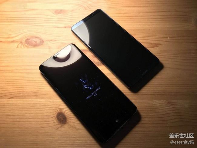 三星盖乐世S9+与华为Mate 10 Pro外观对比