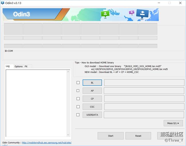 【8.0刷机必看】Note8使用Odin3-v3.13.1线刷8.0教程