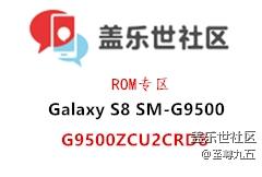 Galaxy S8 (SM-G9500)国行G9500ZCU2CRD8四件套