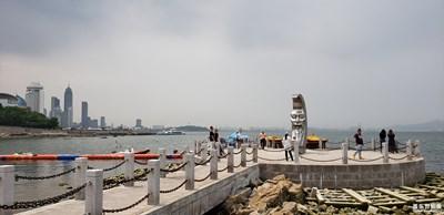烟台月亮湾 东炮台