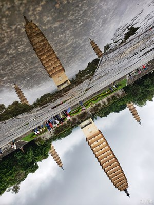 中国最美瞬间+大理印象之倒影