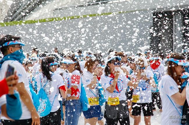 地球上最开心的5公里 盖乐世社区泡泡跑沈阳站精彩回顾
