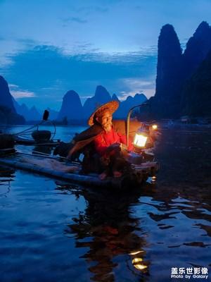 【中国最美瞬间】渔歌晚唱