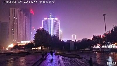 【夜拍】+唐山抗震纪念碑