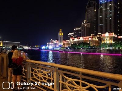 天津的夜景