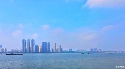 【城市地标】+ 杭州钱塘江边建筑