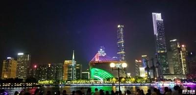 珠江夜拍之广州东塔