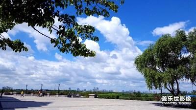 夏日·蓝天·白云