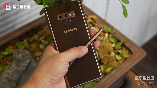 全宇宙首发 三星Galaxy Note9三色美图赏